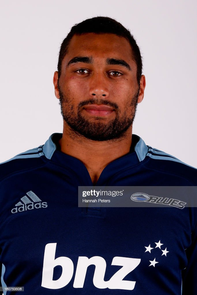 Joe Edwards poses for a portrait during the 2013 Blues headshots session on February 5, 2013 in Auckland, New Zealand.