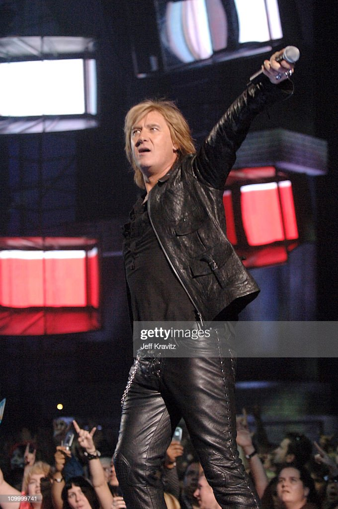 Joe Elliott of Def Leppard during 2006 VH1 Rock Honors - Show at Mandalay Bay Hotel and Casino in Las Vegas, Nevada, United States.