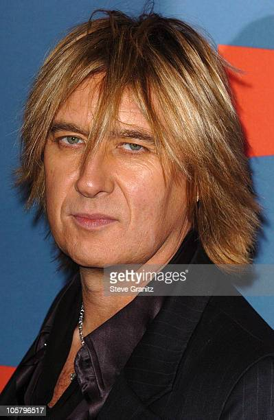 Joe Elliott of Def Leppard during VH1 Big in '05 Arrivals at Sony Studios in Culver City California United States