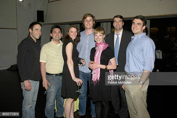 Joe Englander Syd Wolfe Deirdre Dunn Ky Harlin Aubrey Fine Joseph Baggans and Patrick Dunn attend An Evening With the Paul Taylor Dance Company at...
