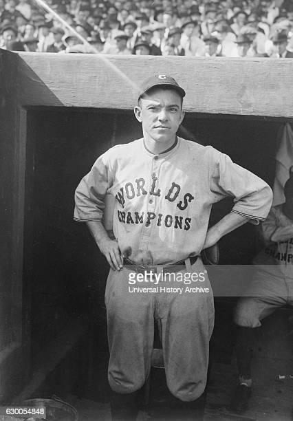 Joe Evans Major League Baseball Player Cleveland Indians Portrait circa 1921
