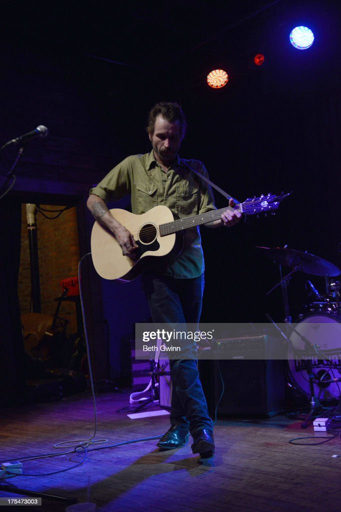 Joe Fletcher performs at The High Wiatt on August 3, 2013 in Nashville, Tennessee.