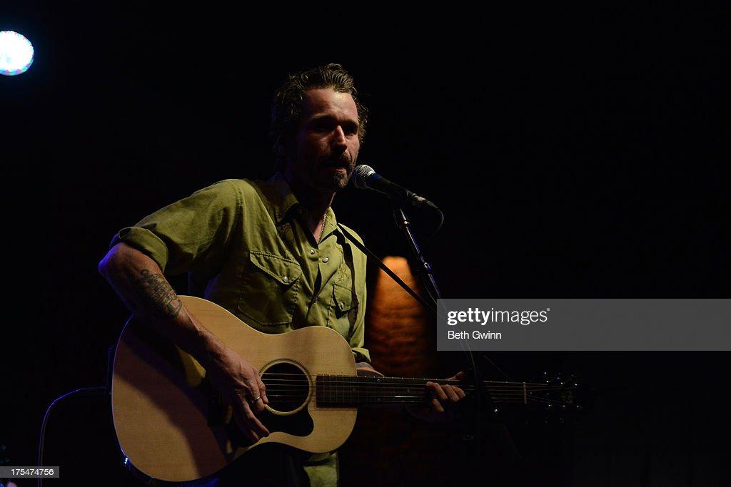 Joe Fletcher performs at The High Wiatt on August 3, 2013 in Nashville, Tennessee.