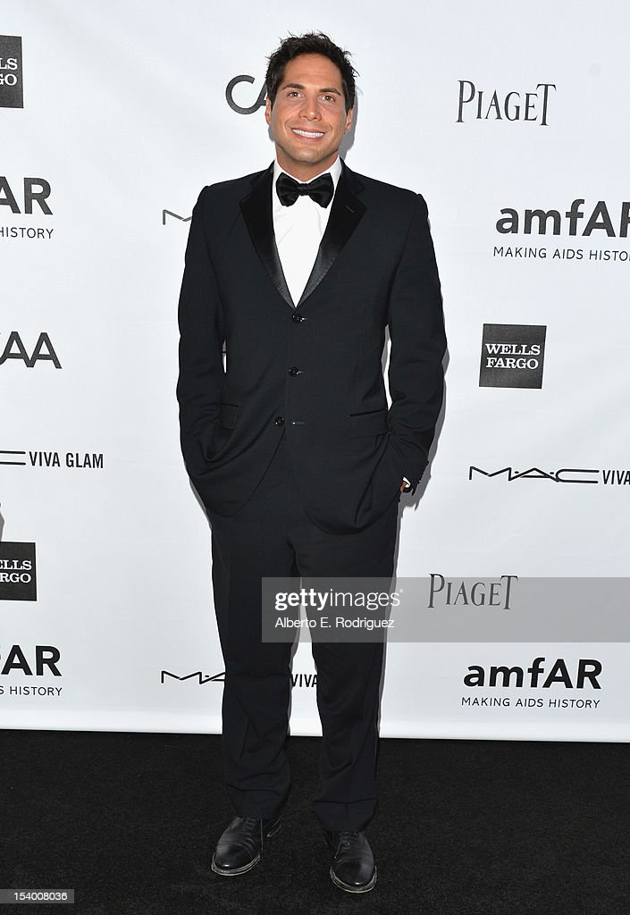 Joe Francis arrives at amfAR's Inspiration Gala at Milk Studios on October 11, 2012 in Hollywood, California.
