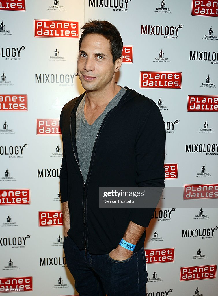 Joe Francis arrives at the Have A Heart benefit for organ donor recipients and their families at Mixology LA at the Farmers Market on February 21, 2013 in Los Angeles, California.