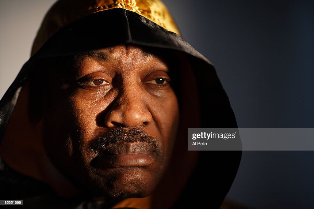 <a gi-track='captionPersonalityLinkClicked' href=/galleries/search?phrase=Joe+Frazier+-+Boxer&family=editorial&specificpeople=214108 ng-click='$event.stopPropagation()'>Joe Frazier</a>, the former Heavyweight Champion of the World poses for a portrait at his boxing gym on March 18, 2009 in Philadelphia, Pennsylvania.