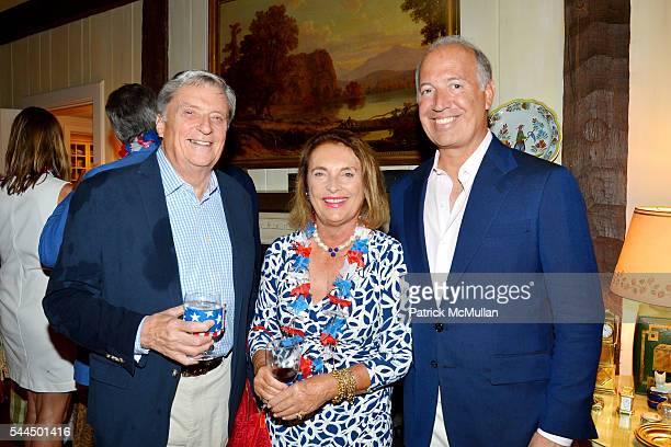 Joe Fuchs Mary Lou Swift and Frank LopezBalboa attend Sandra McConnell's Independence Day BBQ and Fireworks Viewing at Private Residence on July 1...