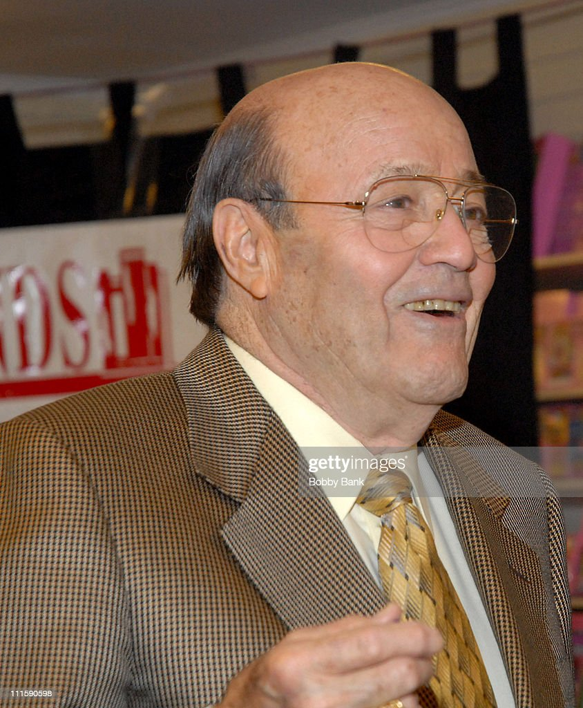 Joe Garagiola during Joe Garagiola Signs His Book 'Just Play Ball' at Bookends Bookstore in Ridgewood, New Jersey - April 12, 2007 at Bookends Bookstore in Ridgewood, New Jersey, United States.