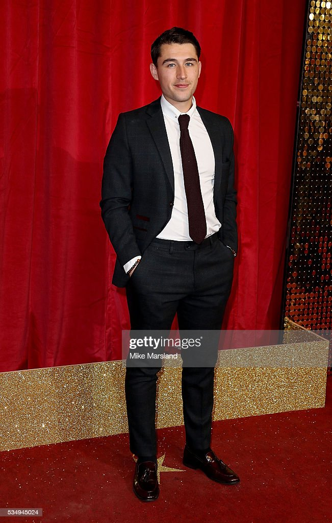 Joe Gill attends the British Soap Awards 2016 at Hackney Empire on May 28, 2016 in London, England.