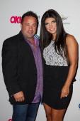 Joe Giudice and Teresa Giudice attends the OK TV Launch Celebration at Lavo on September 9 2013 in New York City