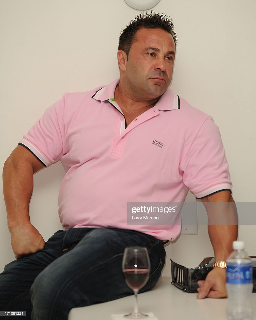 Joe Giudice greets fans and signs copies of her book 'Fabulicious On The Grill' at Books and Books at Museum of Art on June 21, 2013 in Fort Lauderdale, Florida.