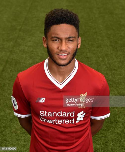Joe Gomez of Liverpool at Melwood Training Ground on September 1 2017 in Liverpool England