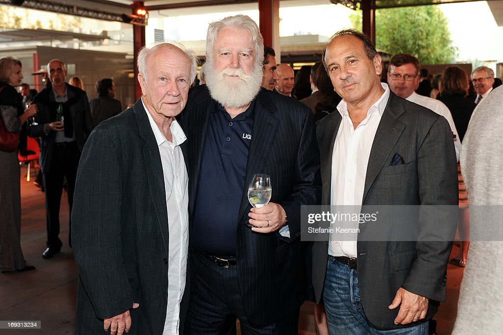 Joe Goode, James Turrell and Michael Kohn attend LACMA Celebrates Opening Of James Turrell: A Retrospective at LACMA on May 22, 2013 in Los Angeles, California.
