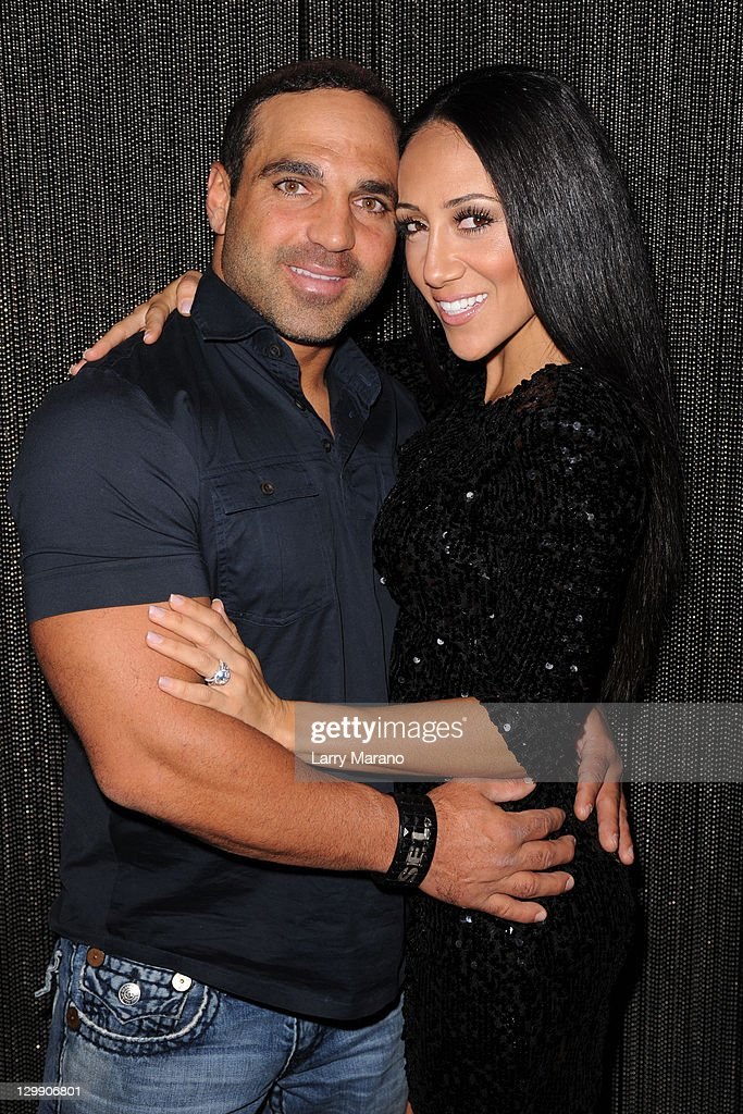 Joe Gorga And Melissa Of The Real Housewives New Jersey Pose At