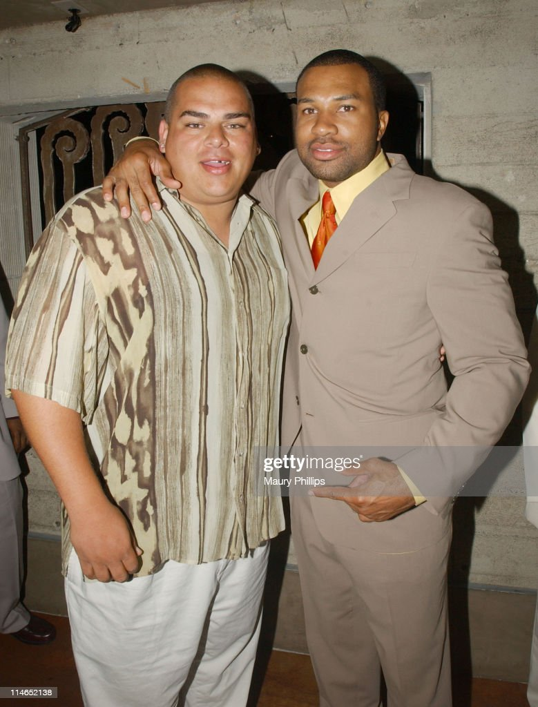 Joe Grande & <a gi-track='captionPersonalityLinkClicked' href=/galleries/search?phrase=Derek+Fisher&family=editorial&specificpeople=201724 ng-click='$event.stopPropagation()'>Derek Fisher</a> during Birthday Celebration for Laker Guard <a gi-track='captionPersonalityLinkClicked' href=/galleries/search?phrase=Derek+Fisher&family=editorial&specificpeople=201724 ng-click='$event.stopPropagation()'>Derek Fisher</a> at Nacional in Hollywood, California, United States.