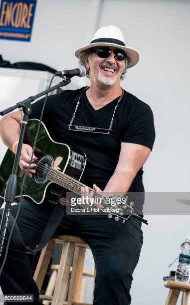 Joe Grushecky performs at the RocklandBergen Music Festival at German Masonic Park on June 24 2017 in Tappan New York