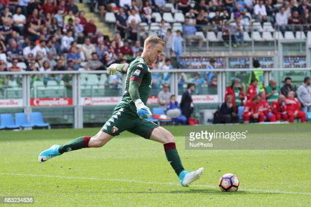 Joe Hart during the Serie A football match between Torino FC and SSC Napoli at Olympic stadium Grande Torino on may 14 2017 in Turin Italy Final...
