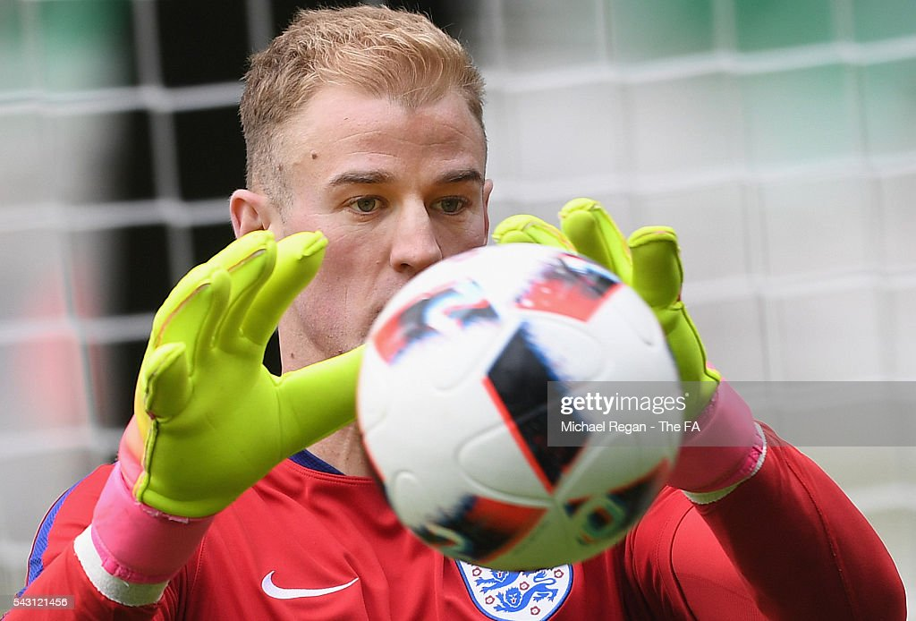 <a gi-track='captionPersonalityLinkClicked' href=/galleries/search?phrase=Joe+Hart&family=editorial&specificpeople=1295472 ng-click='$event.stopPropagation()'>Joe Hart</a> in action at on June 26, 2016 in Chantilly, France.