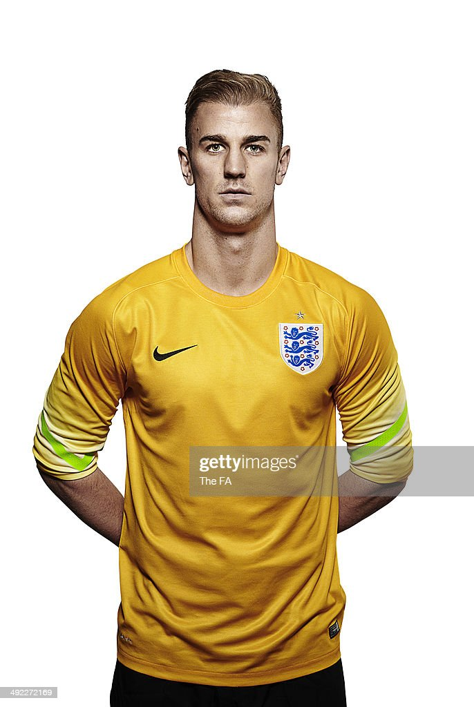 Joe Hart of England poses for a portrait during an England Football Squad Portrait session ahead of the 2014 World Cup in Brazil.