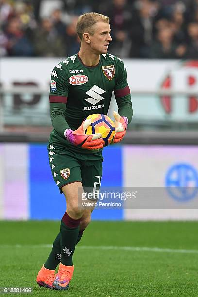 Joe Hart of FC Torino in action during the Serie A match between FC Torino and SS Lazio at Stadio Olimpico di Torino on October 23 2016 in Turin Italy