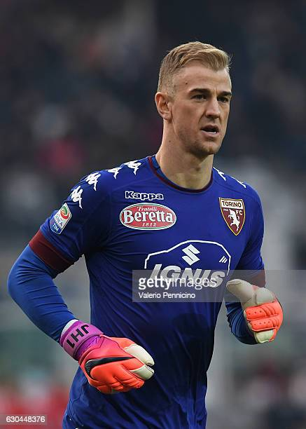 Joe Hart of FC Torino looks on during the Serie A match between FC Torino and Juventus FC at Stadio Olimpico di Torino on December 11 2016 in Turin...