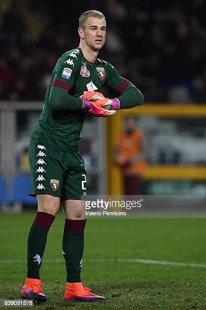 Joe Hart of FC Torino looks on during the Serie A match between FC Torino and AC Milan at Stadio Olimpico di Torino on January 16 2017 in Turin Italy