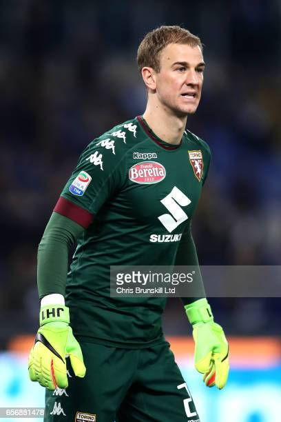 Joe Hart of FC Torino looks on during the Serie A match between SS Lazio and FC Torino at Stadio Olimpico on March 13 2017 in Rome Italy