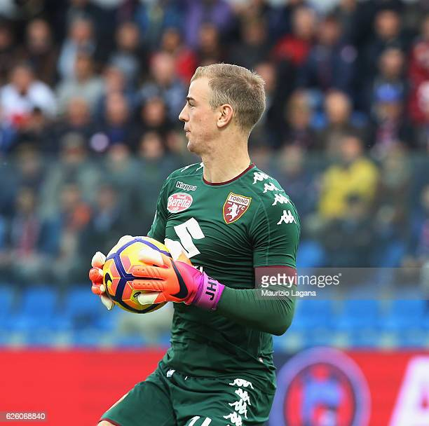Joe Hart of Torino during the Serie A match between FC Crotone and FC Torino at Stadio Comunale Ezio Scida on November 20 2016 in Crotone Italy