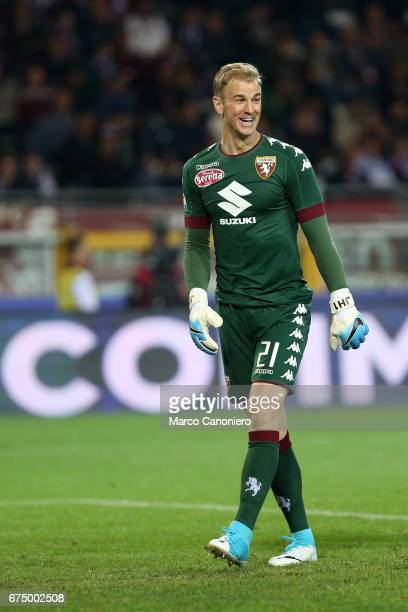 Joe Hart of Torino FC during the Serie A football match between Torino FC and Uc Sampdoria The match ended in a 11 draw
