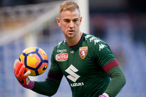 Joe Hart of Torino FC in action during the Serie A football... : News Photo