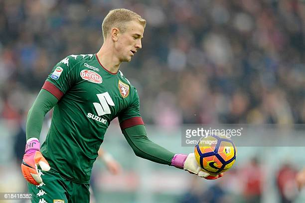 Joe Hart of Torino in action during the Serie A match between FC Torino and SS Lazio at Stadio Olimpico di Torino on October 23 2016 in Turin Italy