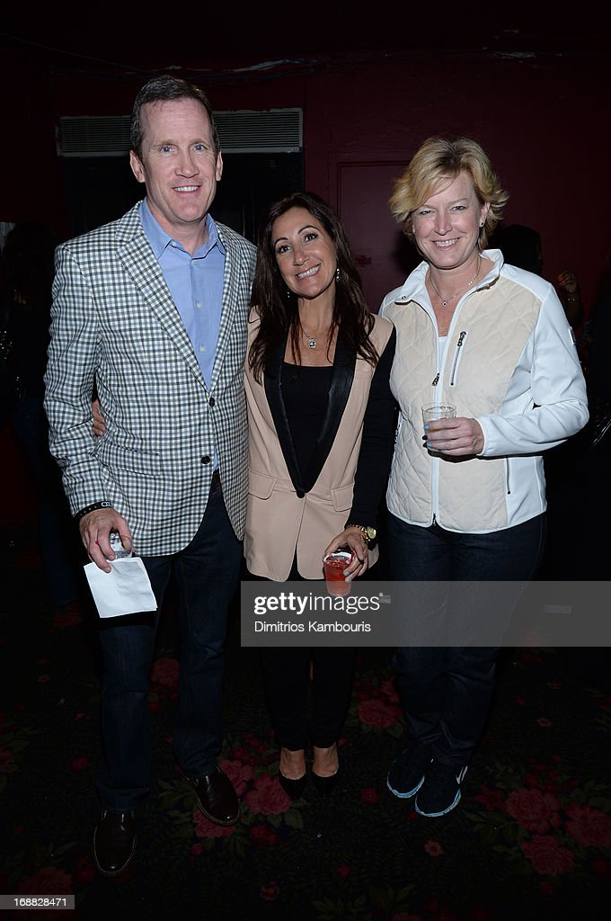 Joe Hogan, Donna Speciale, and Josh Feldman attend the Adult Swim Upfront Party 2013 at Roseland Ballroom on May 15, 2013 in New York City. 23698_001_0198.JPG
