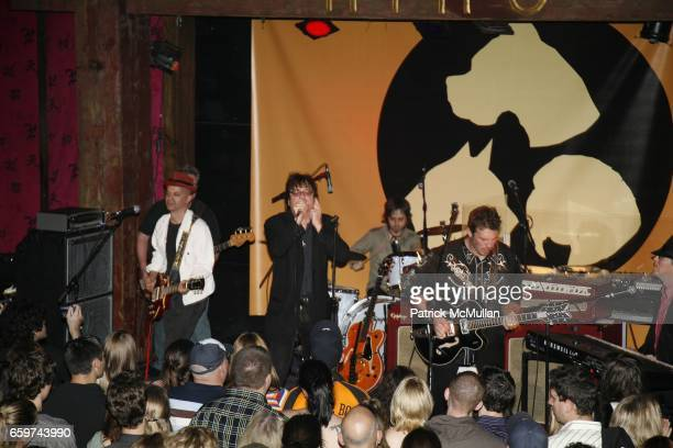 Joe Hurley and The Gents attends 2nd Annual Gimme Shelter Rock and Rescue Charity Rock Concert at Hiro Ballroom on October 4 2006 in New York City