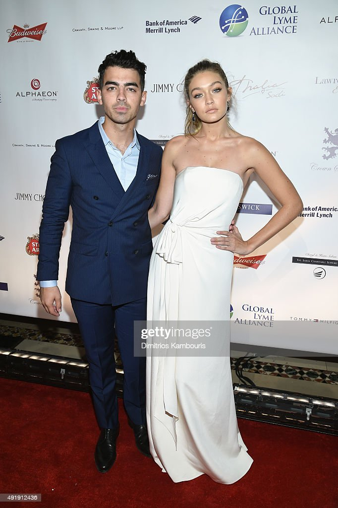 <a gi-track='captionPersonalityLinkClicked' href=/galleries/search?phrase=Joe+Jonas&family=editorial&specificpeople=842712 ng-click='$event.stopPropagation()'>Joe Jonas</a> (L) and <a gi-track='captionPersonalityLinkClicked' href=/galleries/search?phrase=Gigi+Hadid&family=editorial&specificpeople=9198520 ng-click='$event.stopPropagation()'>Gigi Hadid</a> attend the Global Lyme Alliance 'Uniting for a Lyme-Free World' Inaugural Gala at Cipriani 42nd Street on October 8, 2015 in New York City.