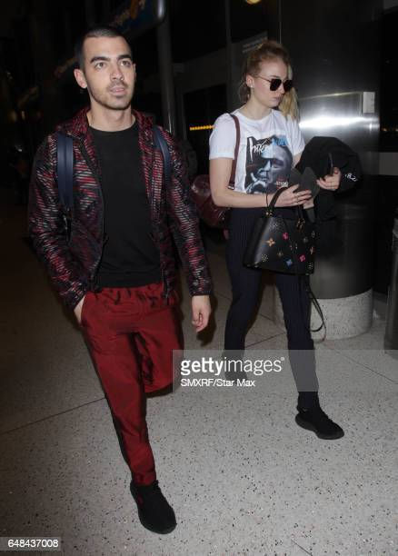 Joe Jonas and Sophie Turner are seen on March 5 2017 in Los Angeles CA