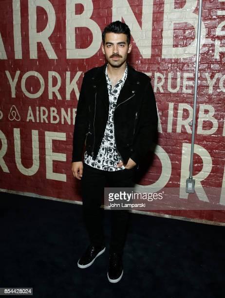 Joe Jonas attends Airbnb presents True York on September 26 2017 in New York City