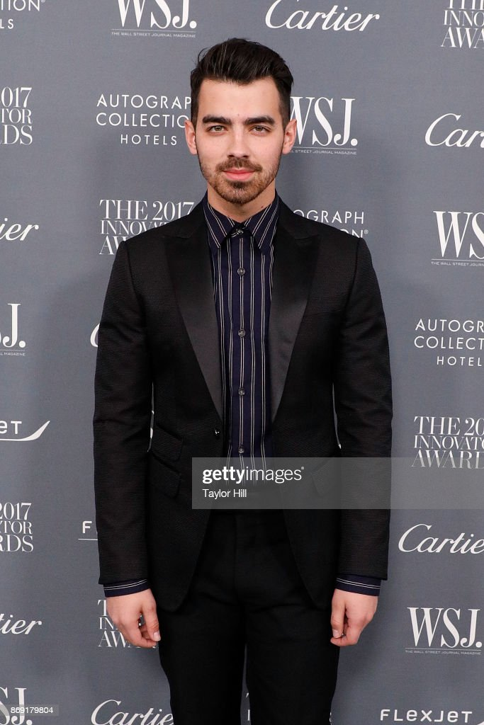 Joe Jonas attends the 2017 WSJ Magazine Innovator Awards at Museum of Modern Art on November 1, 2017 in New York City.