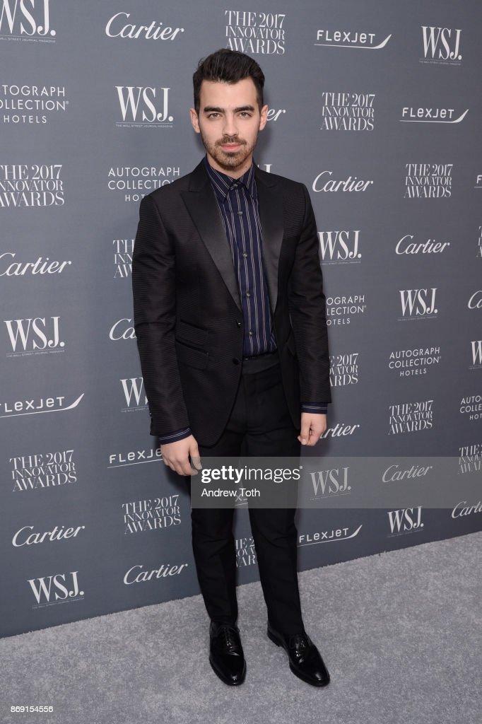 Joe Jonas attends the WSJ. Magazine 2017 Innovator Awards at MOMA on November 1, 2017 in New York City.