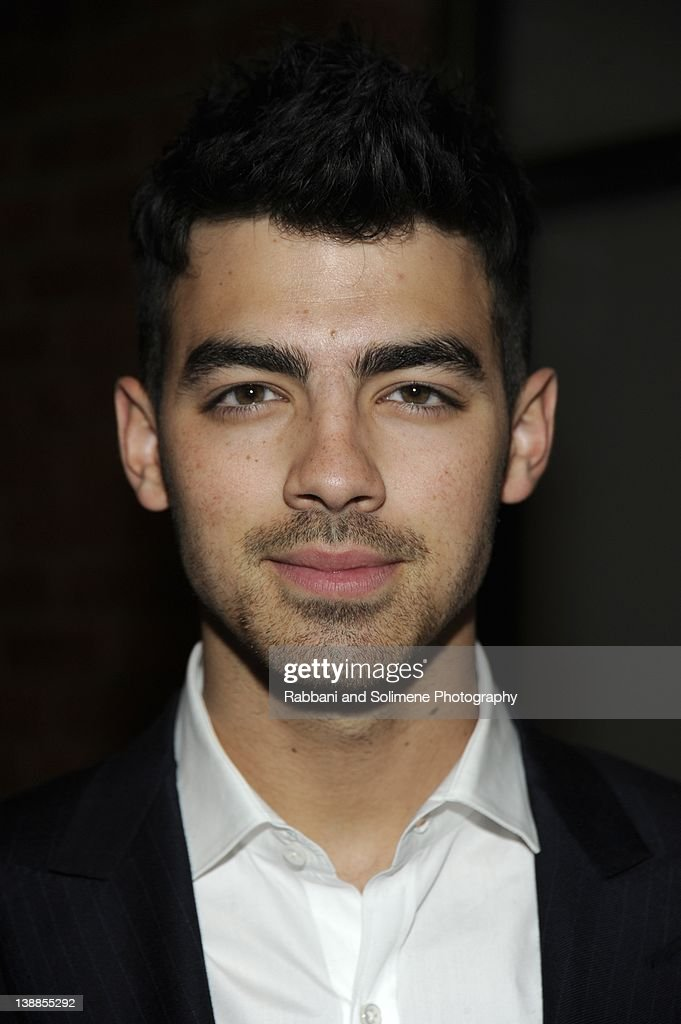 <a gi-track='captionPersonalityLinkClicked' href=/galleries/search?phrase=Joe+Jonas&family=editorial&specificpeople=842712 ng-click='$event.stopPropagation()'>Joe Jonas</a> backstage at the Simon Spurr fall 2012 fashion show during Mercedes-Benz Fashion Week at Milk Studios on February 12, 2012 in New York City.