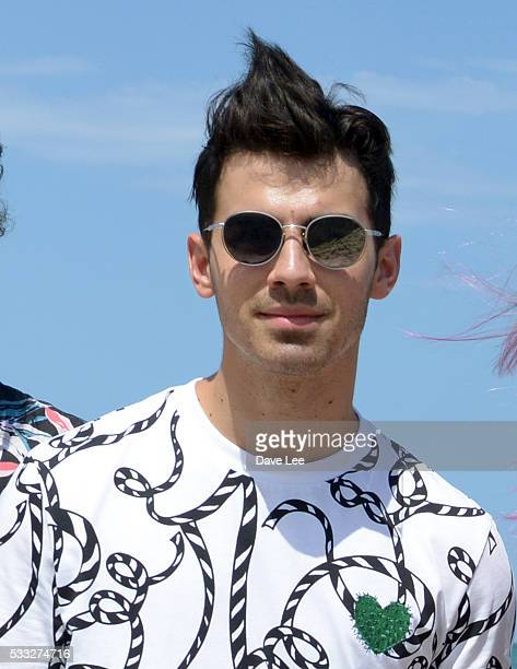 Joe Jonas DNCE and Republic Records celebrate the single 'Cake By the Ocean' May 21 2016 in Miami Beach Florida