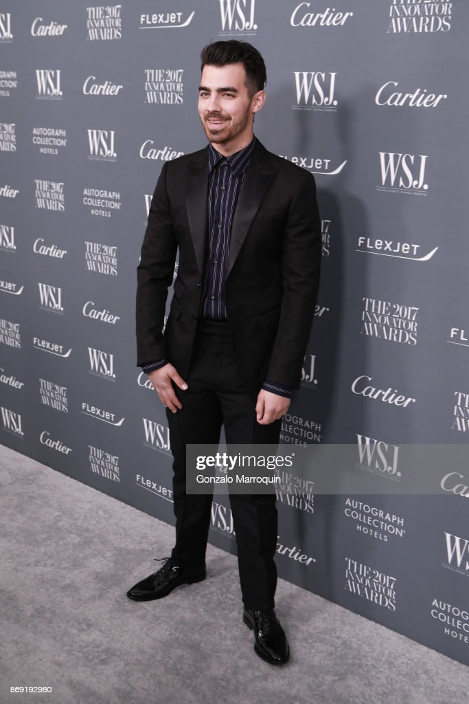 Joe Jonas during the WSJ Magazine 2017 Innovator Awards at Museum of Modern Art on November 1, 2017 in New York City.