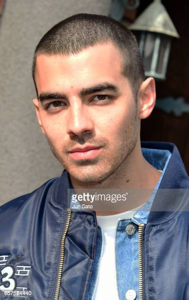 Joe Jonas is seen at Harajuku street on March 25 2017 in Tokyo Japan