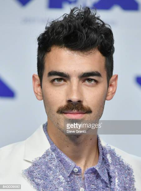 Joe Jonas of DNCE attends the 2017 MTV Video Music Awards at The Forum on August 27 2017 in Inglewood California