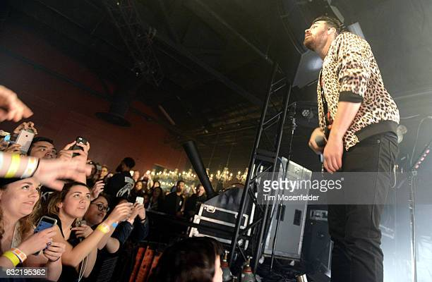 Joe Jonas of DNCE performs in support of the band's self titled release at Ace of Spades on January 19 2017 in Sacramento California