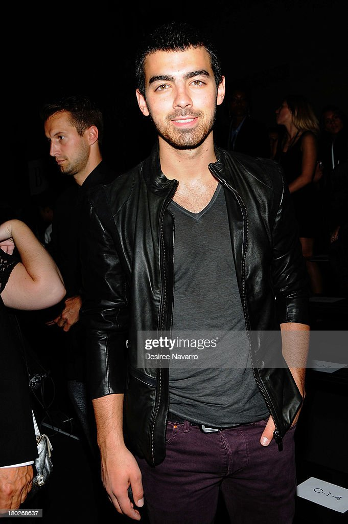 Joe Jonas of Jonas Brothers attends the Diesel Black Gold show during Spring 2014 Mercedes-Benz Fashion Week at Vanderbilt Hall at Grand Central Terminal on September 10, 2013 in New York City.