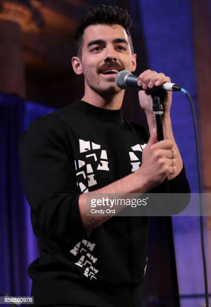 Joe Jonas of the band DNCE performs onstage at the World Childhood Foundation USA 2017 Thank You Gala at Cipriani 25 Broadway on October 2 2017 in...