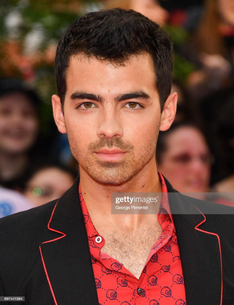 Joe Jonas or DNCE arrives at the 2017 iHeartRADIO MuchMusic Video Awards at MuchMusic HQ on June 18, 2017 in Toronto, Canada.