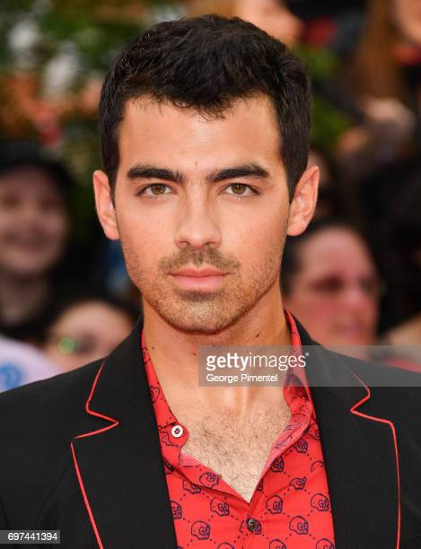 Joe Jonas or DNCE arrives at the 2017 iHeartRADIO MuchMusic Video Awards at MuchMusic HQ on June 18 2017 in Toronto Canada