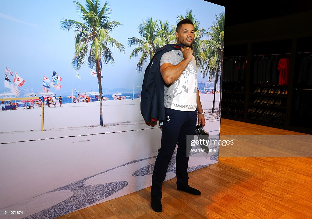 Joe Joyce a member of the Great Britain Olympic team is pictured during the Team GB Kitting Out ahead of Rio 2016 Olympic Games on July 1, 2016 in Birmingham, England.