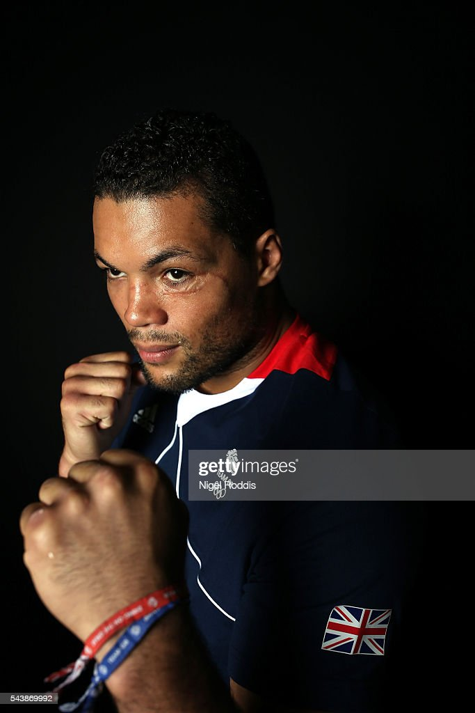Joe Joyce of Great Britain during the Announcement of Boxing Athletes Named in Team GB for the Rio 2016 Olympic Games at the Institute of Sport on June 30, 2016 in Sheffield, England.